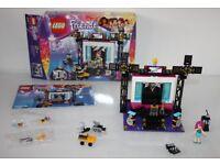 Excellent condition LEGO Friends Pop Star TV Studio Set 41117 girls building bricks bundle toys