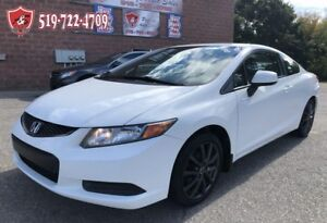 2012 Honda Civic LX/ONE OWNER/NO ACCIDENT/CERTIFIED/WARRANTY INC