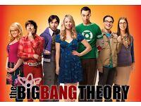 the big bang theory season 1/2/3/4/5 box sets