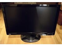 "BenQ GL2023A Flicker Free 19.5"" Inch Widescreen LED Glossy Black Monitor"