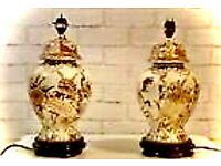 2 CHINA LAMPS 💥Bargain💥
