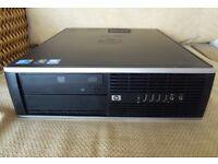 HP COMPAQ 6000 DESKTOP PC - WINDOWS 10 PRO - 320GB / 4GB / CORE 2 DUO - EXCELLENT CONDITION