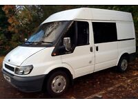 2005 Ford Transit 280 SWB Insulated Campervan Europe/UK Travel Ready Plus Extras