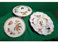 ROYAL WORCESTER 'EVESHAM PATTERN' 3 PIECE. (Must see photos)