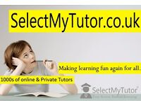 Over 10,000 Affordable & Experienced English/Maths/Science/ French/Spanish Tutors
