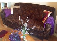 Stunning Habitat Vintage Sofa, Leopard Print, in Fantastic condition!!! - in W4 - PRICE DROP! OFFER?