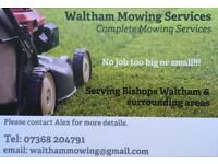 Grass Cutting - Mowing Services in Bishops Waltham