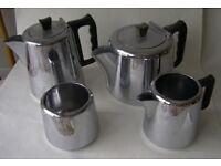 Steel Tea and Coffee set
