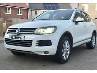 VW Touareg, FSH, MOT March 2019, 4 new tyres, pan roof, power tailgate, 242bhp, Immaculate condition