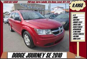 2010 Dodge Journey SE A/C CRUISE CD/MP3