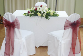 banquet chair covers and sashes