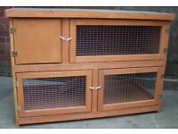 NEW TWO TIER 4FT RABBIT HUTCH AND RUN