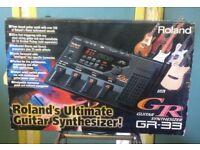 Roland GR-33 Guitar Synth.