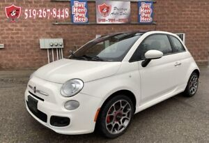 2013 Fiat 500 Sport/ONE OWNER/NO ACCIDENT/WARRANTY INCLUDED
