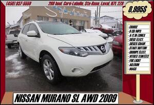 2009 Nissan Murano SL AWD TOIT PANO
