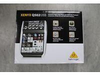 Behringer Xenyx Q502USB Mixer Boxed Like New £40