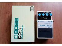 BOSS DD-3 Digital Delay guitar pedal - Fantastic condition!