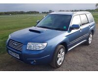 Subaru Forester 2.5XT auto 2007: 71k Low mileage, Full Year MOT, FSH, recent service, new battery