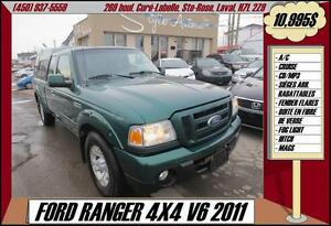 2011 Ford Ranger 4X4 A/C CRUISE MAGS