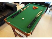 Pool Table 4ft 6 - Boxed as new condition.