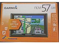 Garmin nuvi 57LM Sat Nav with UK & Ireland Map