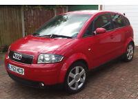 Audi A2 2002 1.4 Petrol Red
