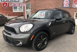 2013 MINI Cooper Countryman S ALL4/CERTIFIED/WARRANTY INCLUDED