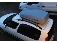 470l Exodus Roof Box Grey