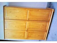 Julian Bowen, Solid Pine, Triple Door Wardrobe, New & Boxed.