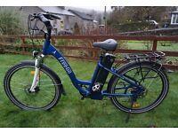 2015 Used Freego Eagle stepthrough electric bike 16ah battery. Up to 65 mile range