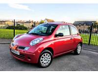 Nissan Micra Visia 1.2 Petrol, Pure Drive, Red. Warranted Milage
