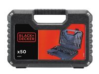 BLACK & DECKER A7217 50-PIECE DRILLING AND SCREW DRIVING SET
