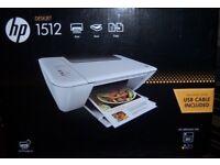 Only used once Hp deskjet 1512 printer scaner combo