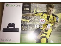 Fantastic Xbox one S 500gb console Fifa 17 edition mint condition boxed with everything