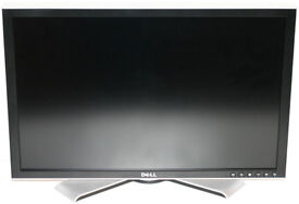 """Dell 2407WFP Ultrasharp 24"""" LCD Monitor & Stand"""