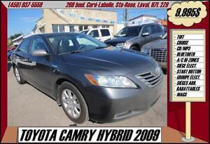 2009 Toyota Camry Hybride TOIT A/C BLUETOOTH