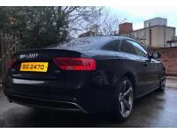 12 Audi A5 Coupé 2.0 TDi S-Line 'Black Edition' *FULL YEARS MOT* (Private Seller)