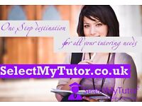 10000+ Private Tutors for GCSE & A-Level English/Maths/Physics/Biology/Chemistry/Spanish/French