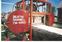 Portable Sawmill /Lumber and woodworking in calgary