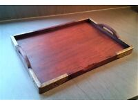 Lovely Decorative Rosewood Tray