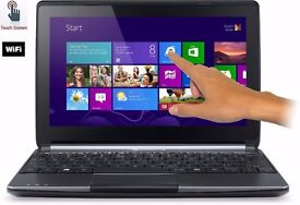 """Packard Bell ME69BMP 10.1"""" TouchScreen Laptop"""