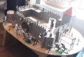 Playmobile Castle with knights