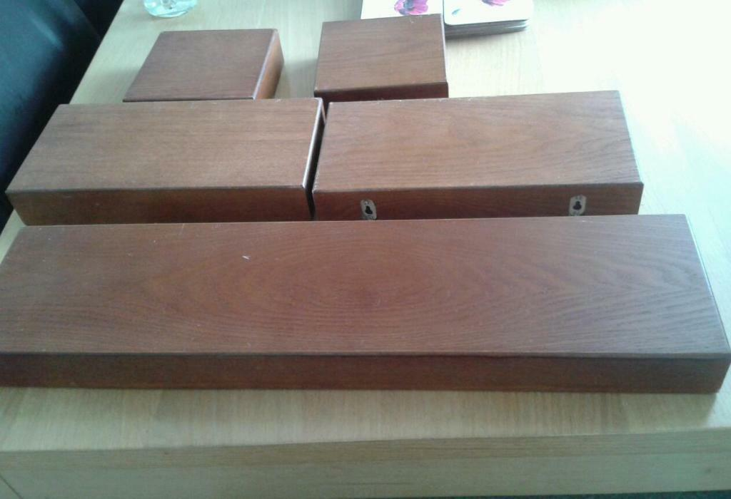 brown floating shelves in felixstowe suffolk gumtree