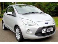 2011 (60) FORD KA 1.3 TDCI ZETEC, 1 OWNER ,LOW MILEAGE, FULL SERVICE HISTORY