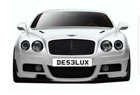 Private number plate for sale