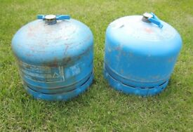 2 Camping Gaz cylinders 904