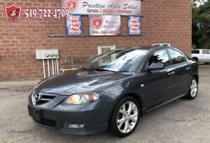2009 Mazda MAZDA3 GT/2.3L/CERTIFIED/WARRANTY INCLUDED