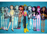 4th Bundle of Monster High Dolls Includes Boys (Free Local Delivery)