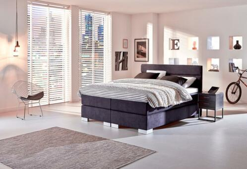 ≥ Boxspring Night Boston | Swiss Sense - Slaapkamer | Boxsprings ...