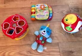 X4 VTech Baby / Toddler Toy Bundle - As New